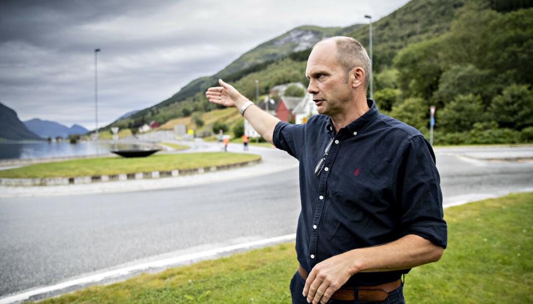 <strong>PREGET:</strong> Oddmund Klakegg, ordfører i Jølster kommune. Foto: Bjørn Langsem / Dagbladet