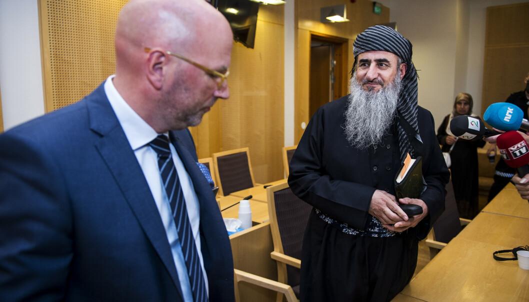 Mulla Krekars forsvarer Brynjar Meling bekrefter at fengslingskjennelsen fra Oslo tingrett er anket. Foto: Carina Johansen / NTB scanpix