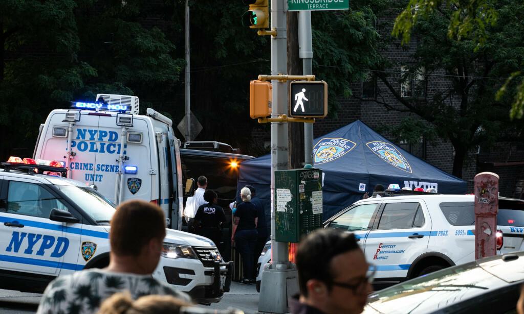 DØDE: Den tragiske hendelsen skjedde fredag i New York. Foto: NYT/NTB Scanpix