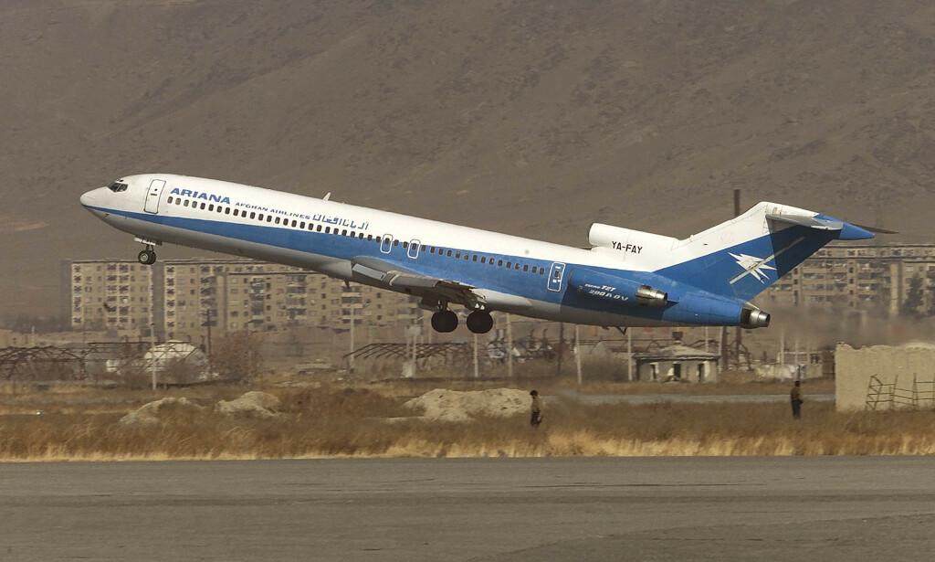 FLYVETT: Mange flyselskap får ikke operere i europeisk luftrom fordi de er vurdert som usikre. Ariana Afghan Airlines er et av dem. Dersom du booker billetter med et slikt selskap fra en flyplass utenfor Europa, får du ikke dekket kostnader ved avbestilling. Foto: Oleg Popov/Reuters/NTB Scanpix