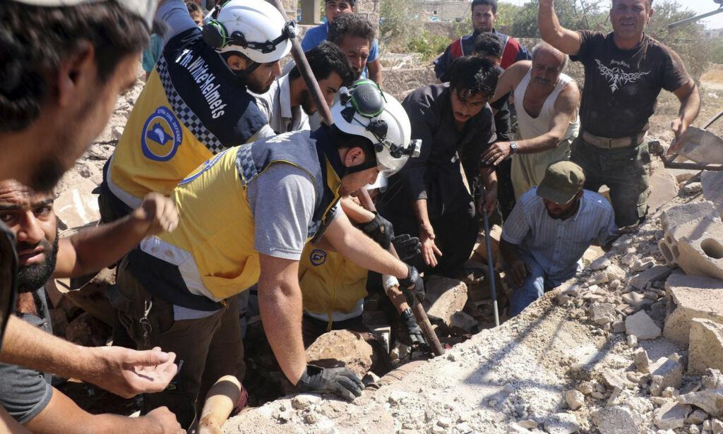 image: Syrias regjering sier den går med på våpenhvile på vilkår