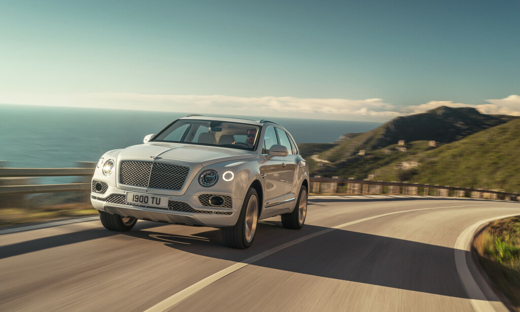 4. PLASS: Bentley Bentayga. Foto: Bentley
