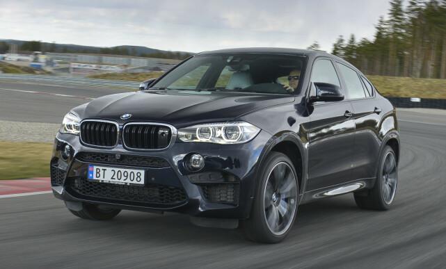 DELT 6. PLASS: BMW X6. Foto: Jamieson Pothecary