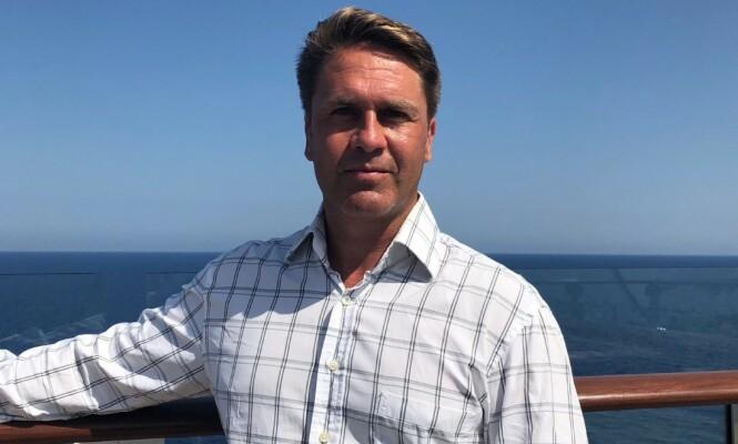 POSITIV TIL SAMARBEID: Royal Caribbean-sjef Geir Kronbæck er positiv til samarbeidet med Sjøfartsdirektoratet. Foto: Privat