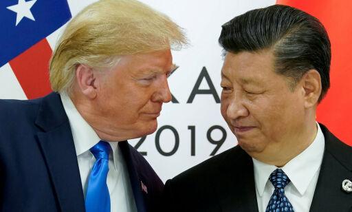 image: Kina raser mot Trump