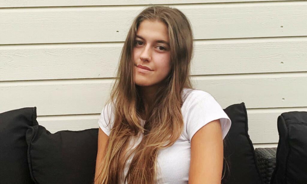 HANDLET RASKT: 17 år gamle Aleksandra handlet raskt og holdt hodet kaldt da en mann trengte hjelp. Foto: Privat