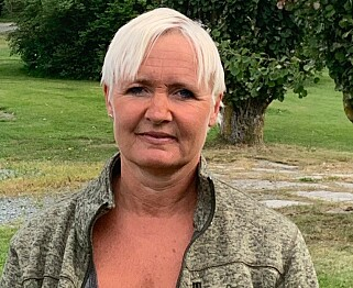 REDDET LIV: Forrige helg måtte Beate Klomstad legge på sprang da en kvinne ble dratt livløs opp av sjøen. Foto: Privat