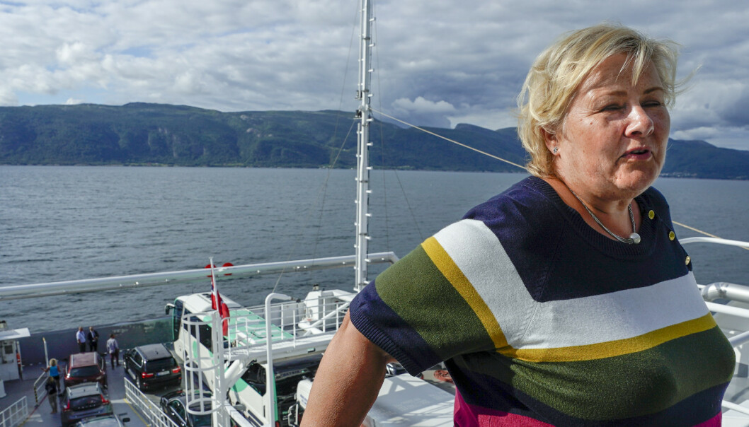 Solberg mener kommunene må dele æren for klimakutt med regjeringen