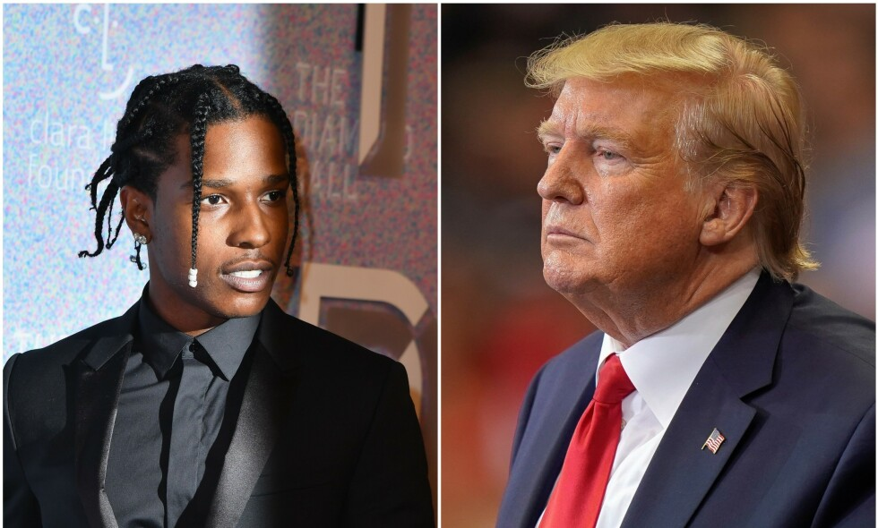 LØSLATT: Asap Rocky og de tre andre tiltalte ble i dag løslatt fra varetekt. Nå skriver USAs president Donald Trump på Twitter at rapperen kan komme hjem. Foto: NTB Scanpix