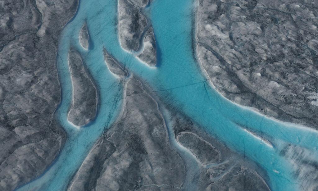 Rekordsmelting på Grønlandsisen
