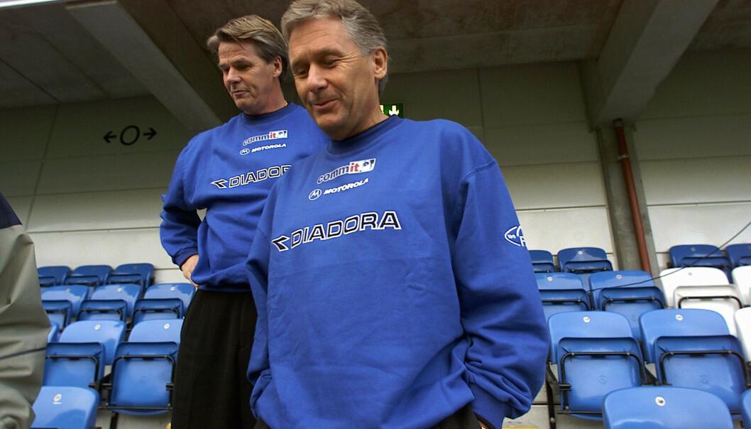 Gunnar Bengtsson sitt siste treneroppdrag var for Molde i 2001–2003. Det fikk ikke en veldig pen avslutning. Foto: Romsdals Budstikke/NTB scanpix.