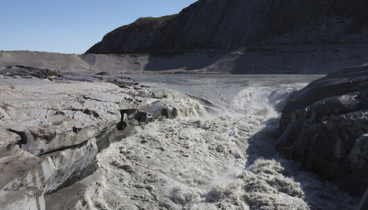 Ny varmerekord på toppen av innlandsisen på Grønland