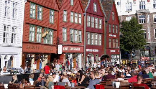 Liten grunn til turisthat i Norge