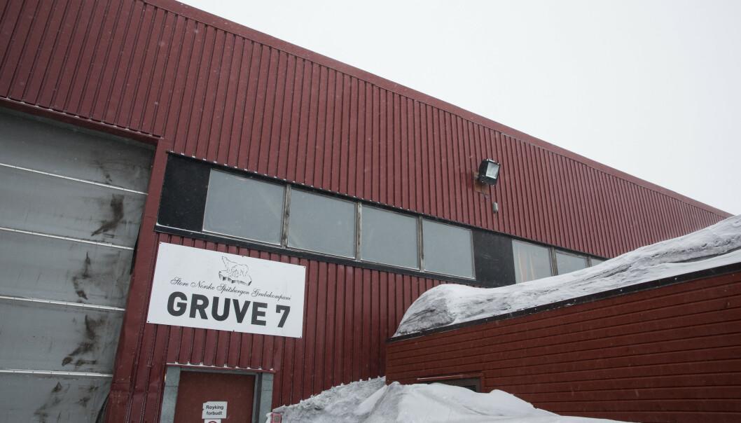 I 2018 ble det solgt 142.500 tonn kull fra Gruve 7, en økning fra 133.600 tonn året før. Gruva leverer hovedsakelig kull som gir strøm til Longyearbyen. Foto: Tore Meek / NTB scanpix