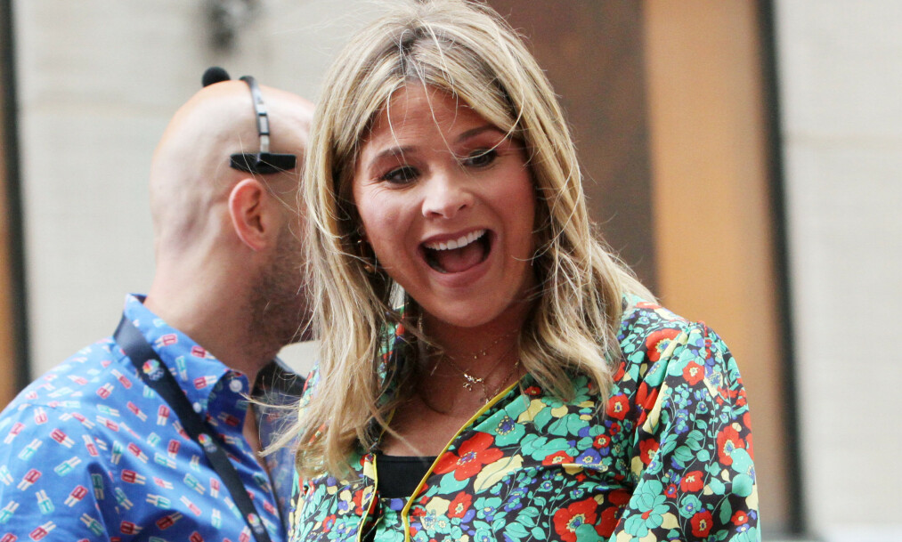 FIKK EN SØNN: Jenna Bush Hager fikk sitt tredje barn forrige uke. Foto: NTB Scanpix