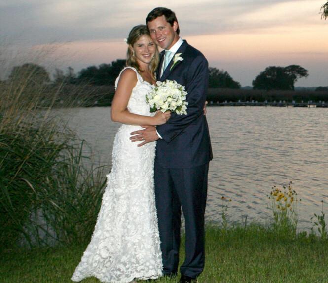 FIKK EN SØNN: Jenna og Henry fikk nylig en sønn sammen. Fra tidligere har de to døtre. Her da de giftet seg i 2008. Foto: NTB Scanpix
