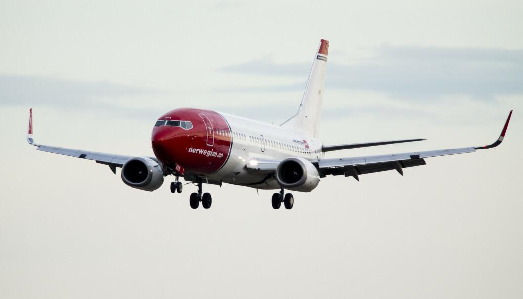 Passasjernedgang hos Norwegian