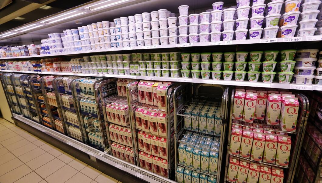 Norske matvarer er de dyreste i Europa. Foto: Lise Åserud / NTB scanpix