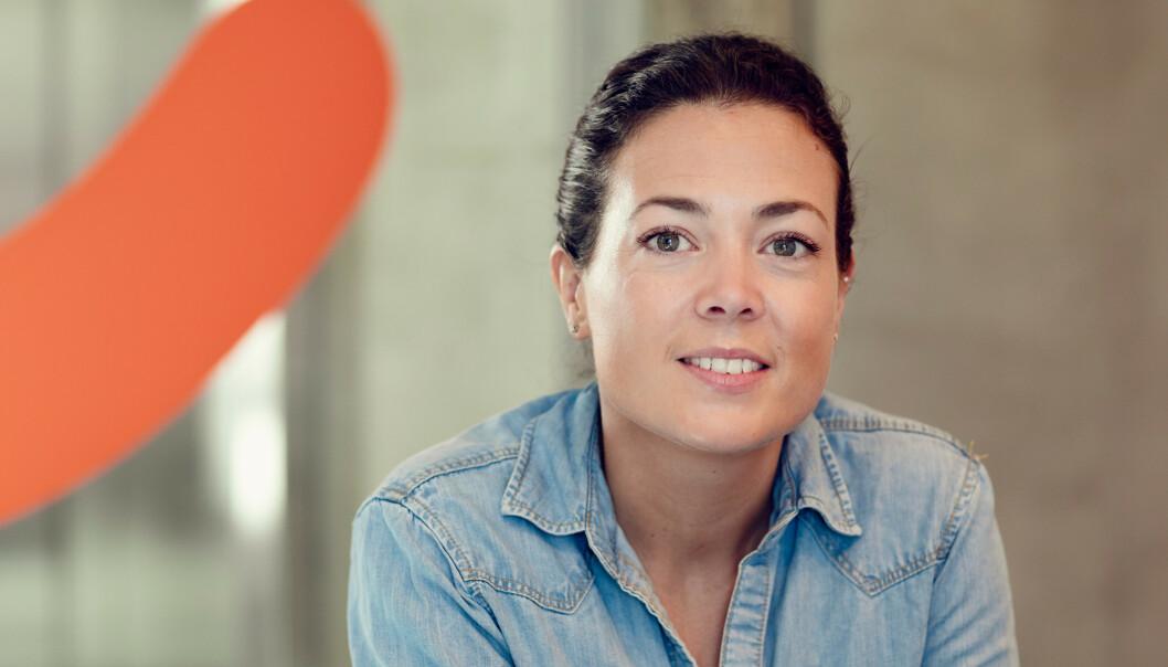 <strong>KAN BLI LEST:</strong> Hanne Kjærnes forteller at meldingene du skriver inn kan bli lest i visse tilfeller. Foto: Vipps.