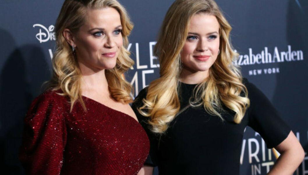 OMTALT: Likheten mellom Reese Witherspoon og datteren har fått mye spalteplass i media. FOTO: Scanpix