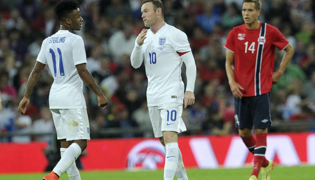 Wayne Rooney, her i aksjon for England mot Norge i 2014, er nå klar for Derby. Foto: Terje Pedersen / NTB scanpix