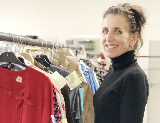LANG FARTSTID: Kostymedesigner Karen F. Gram har jobbet med kostyme til film og TV i 30 år. FOTO: Malini Gaare Bjørnstad