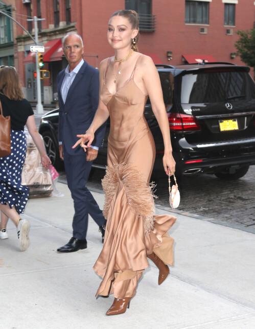 <strong>SUPERMODELL:</strong> Den berømte modellen Gigi Hadid kobles nå til en ny kjekkas etter bruddet med Zayn Malik. Foto: NTB Scanpix