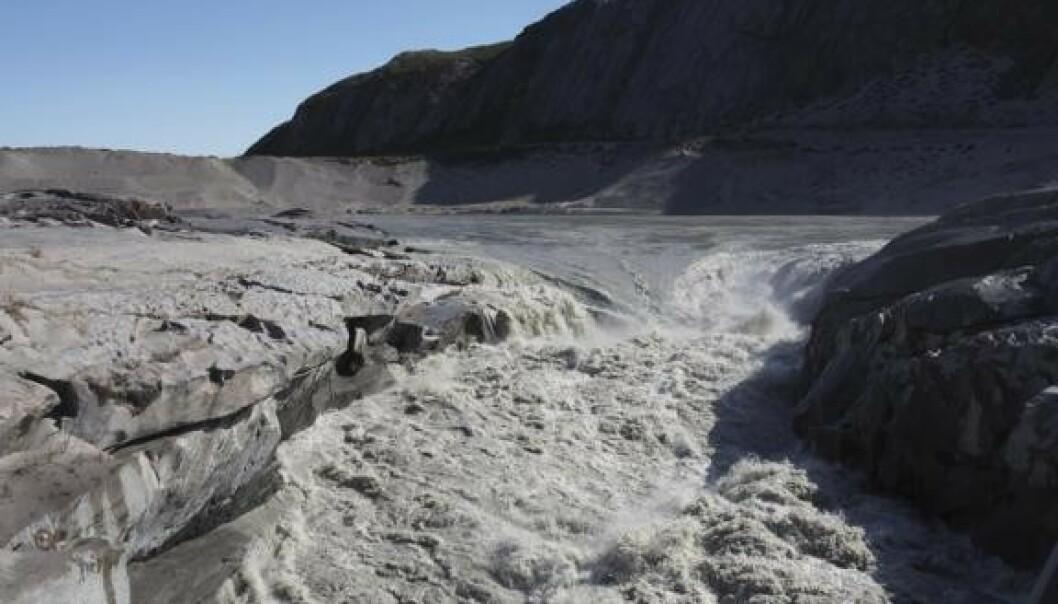 Ny varmerekord på Grønlandsisen