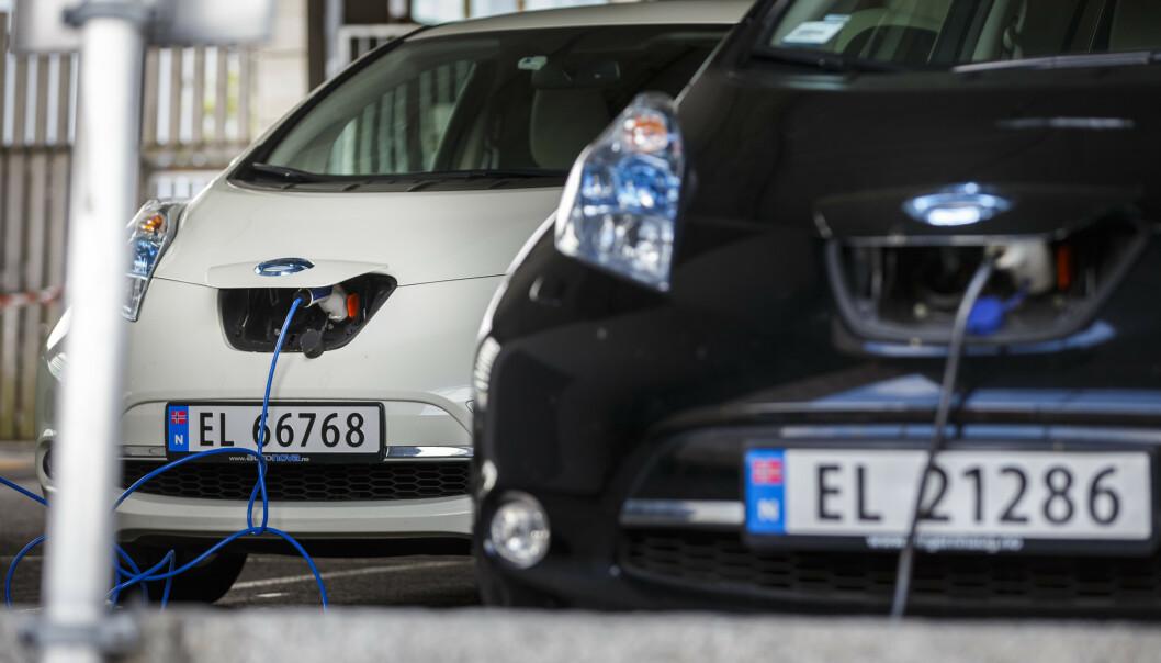 <strong>HVOR MANGE? Hvor mange elbiler er det i Norge? Og hvor mange er det i verden? Foto:</strong> Heiko Junge/NTB scanpix.