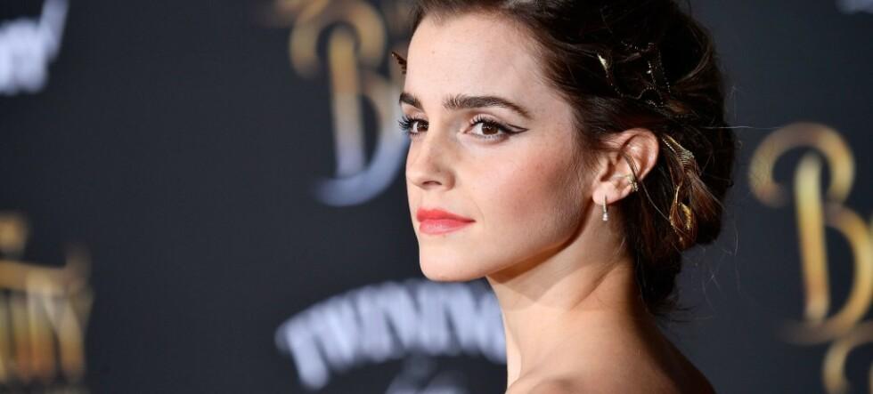 Skuespiller Emma Watson starter hjelpetelefon for kvinner som blir utsatt for trakassering på jobben