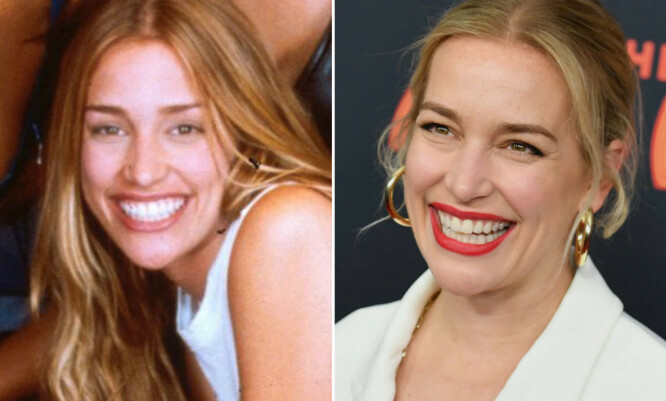 SOLSTRÅLE: Piper Perabo har blitt 19 år eldre siden «Coyote Ugly», men skuespillerinnens store, karakteristiske smil er det samme. FOTO: Scanpix