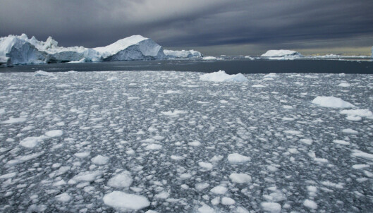 Aldri vært mindre is i Arktis