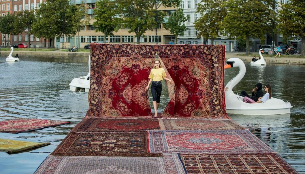COPENHAGEN FASHION WEEK: Se flere av de fantastiske kolleksjonene fra moteuken i København. Her fra MUF10. Foto. Scanpix
