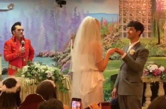 <strong>GIFTET SEG:</strong> DJ-en Diplo livestreamet bryllupsseremonien. Foto: Diplo / Instagram