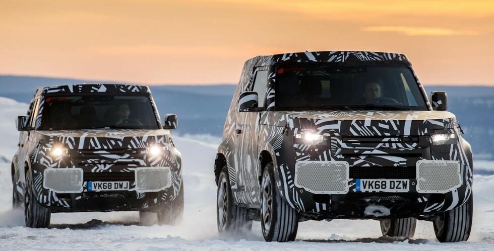 GJENOPPSTÅR: Land Rover Defender kommer i både kort og lang utgave, etter at den nå er satt i produksjon igjen. Alle foto: Produsentene og Rune Korsvoll