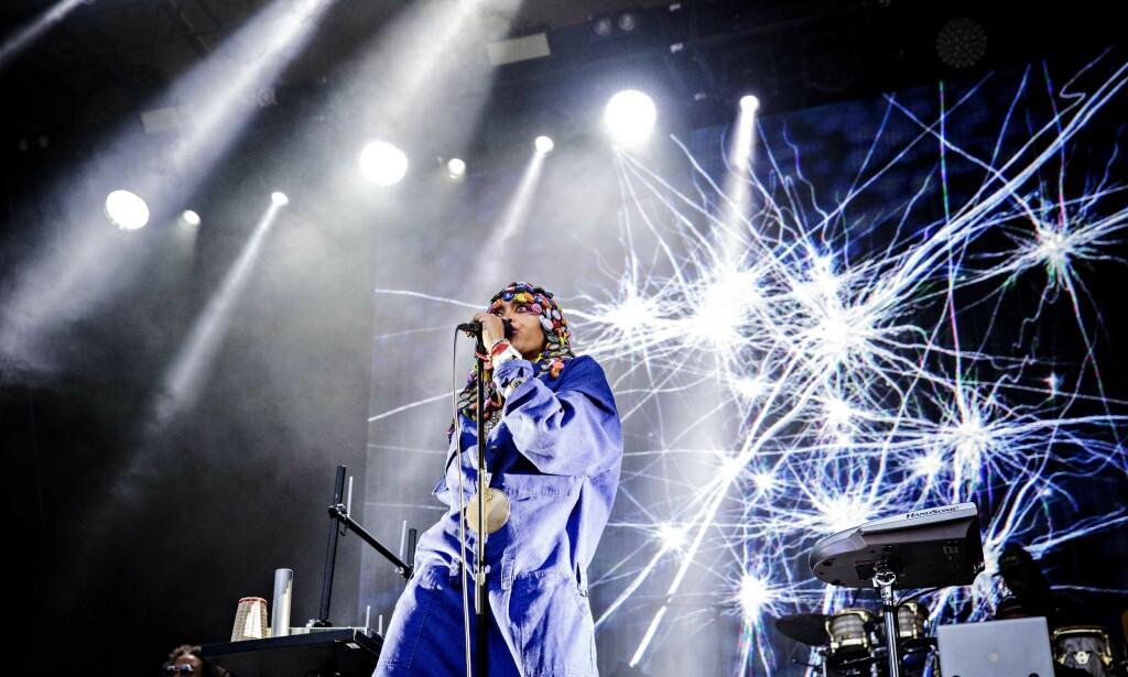 Erykah Badu  Foto: Nina Hansen / Dagbladet
