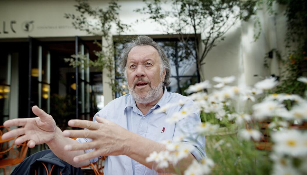 ENGASJERER SEG: Bjørn Eidsvåg har kastet seg over tastaturet for å ytre sin mening om festivalgjengere som snakker mer enn de lytter. Foto: Anita Arntzen / Dagbladet
