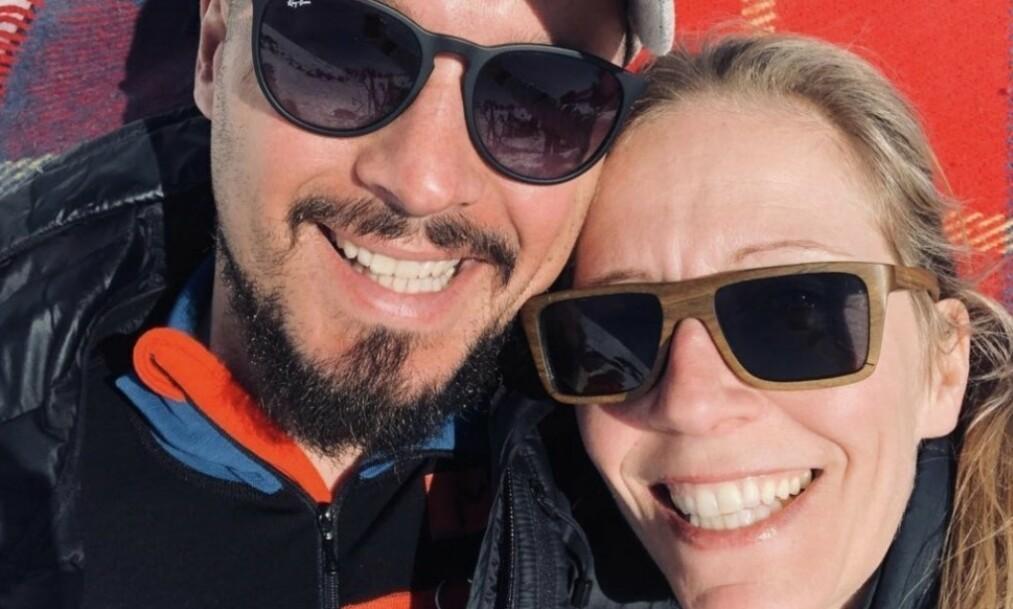 BISATT: I slutten av juli tapte Nina Jensens samboer, Nicolai Roan (39), kampen mot kreften. I dag ble han bisatt fra Grefsen kirke i Oslo. Foto: Privat