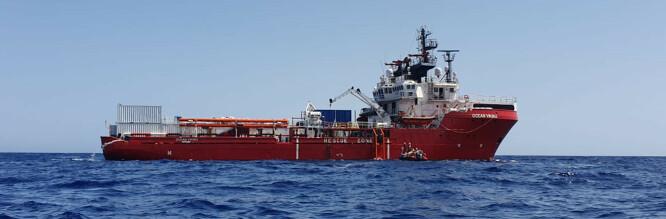 Norsk skip har plukket opp folk i Middelhavet