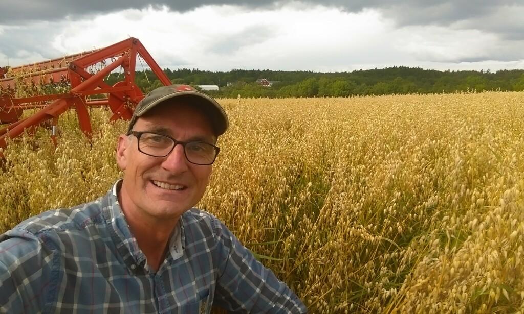 OPPRØRT: Miljøpartiet De Grønnes landbrukspolitiske talsmann Harald Moskvil mener Norsk Bondelags generalsekretær gjør alle bønder en bjørnetjeneste ved å si at vi ikke trenger å gjøre endringer i norsk landbruk.