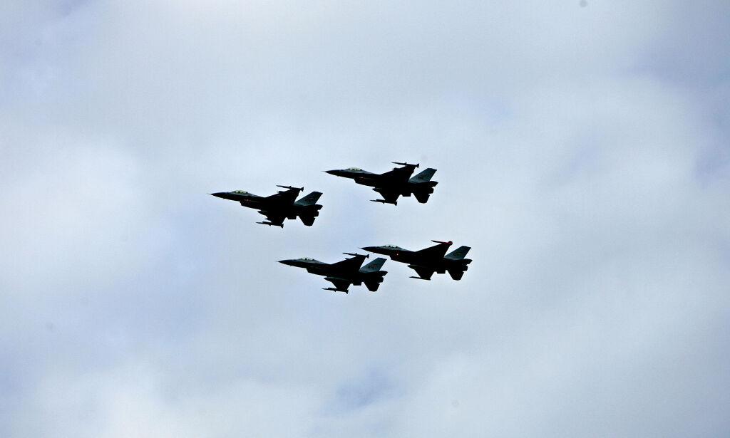 image: Norske F-16 måtte rykke ut tre ganger på én dag