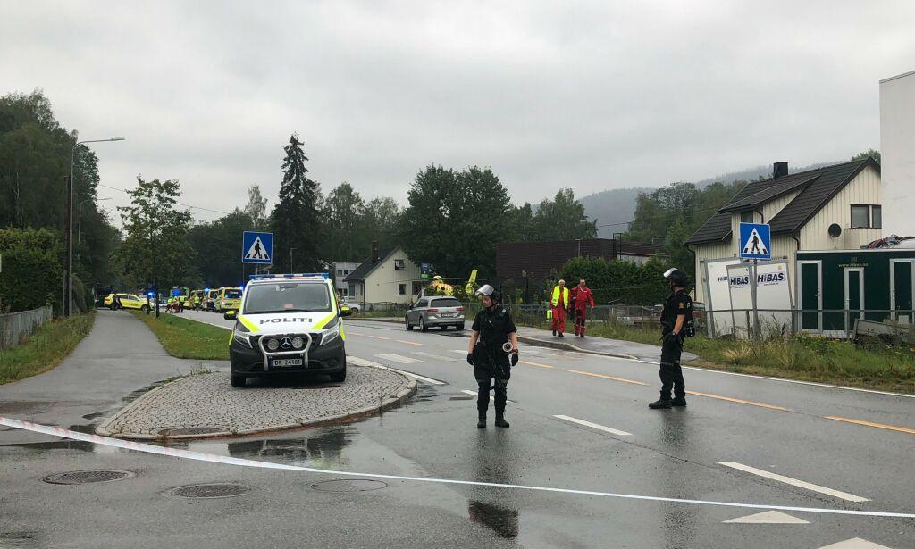 image: En pågrepet etter moske-skyting i Bærum