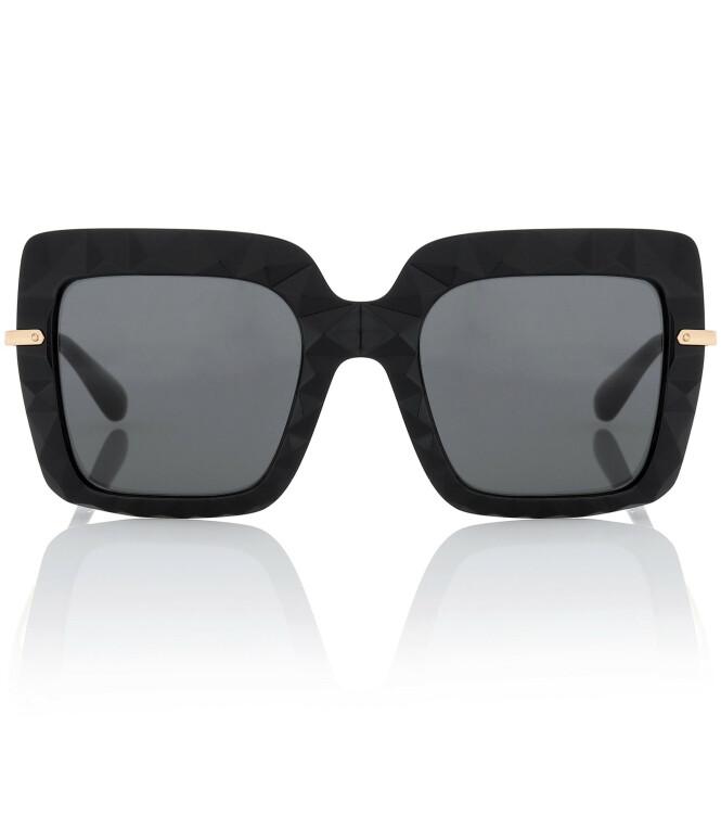Firkantede solbriller (kr 2065, Gucci). FOTO: Produsenten