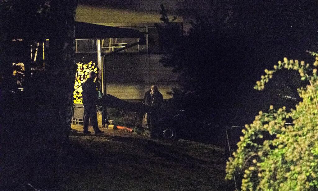 SIKTET FOR DRAP: Mannen i 20-åra er siktet for drap på en kvinne i Bærum. Foto: Frank Karlsen / Dagbladet