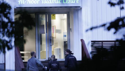 Mange nordmenn melder seg som vakt utenfor moskeer