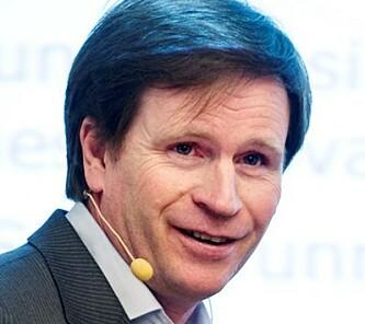 DISRUPTIVT: Per Egil Pedersen mener den nye salgskanalen er disruptiv og har stort potensial. Foto:f NHH