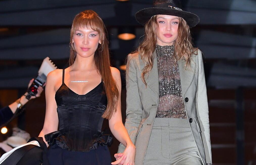 BLE RANET: Modellsøstrene Bella og Gigi Hadid var på ferie på den greske øya Mykonos da de skal ha blitt ranet. Nå går sistnevnte hardt ut i et Instagram-innlegg og advarer andre mot å reise til øya. Foto: NTB Scanpix