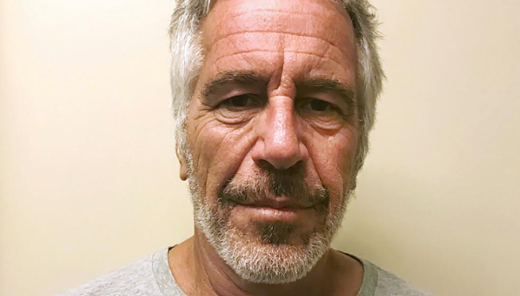 Politiets bilde av Jeffrey Epstein, som begikk selvmord i fengselet lørdag. Foto: New York State Sex Offender Registry via AP / NTB scanpix