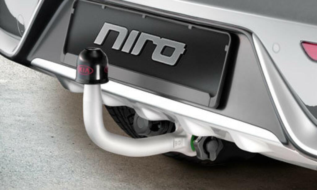 KROK: Dette blir ikke å få på den hel-elektriske Niro-modellen. Foto: KIA