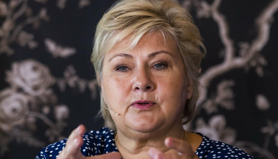 Solberg åpen for handlingsplan mot muslimhat